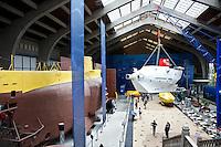 Cherbourg Cité de la Mer  Museo dedicato al mare, la hall