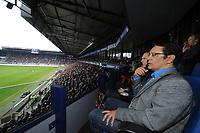 VOETBAL: HEERENVEEN: Abe Lenstra Stadion, 14-04-2013, Eredivisie 2012-2013, SC Heerenveen - Willem II, Eindstand 3-2, Burgemeester Tjeerd van der Zwan, ©foto Martin de Jong