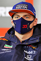 8th October 2020, Nuerburgring, Nuerburg, Germany; FIA Formula 1 Eifel Grand Prix;  33 Max Verstappen NLD, Aston Martin Red Bull Racing