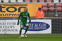 Elliot Justham during Dagenham & Redbridge vs Altrincham, Vanarama National League Football at the Chigwell Construction Stadium on 2nd October 2021