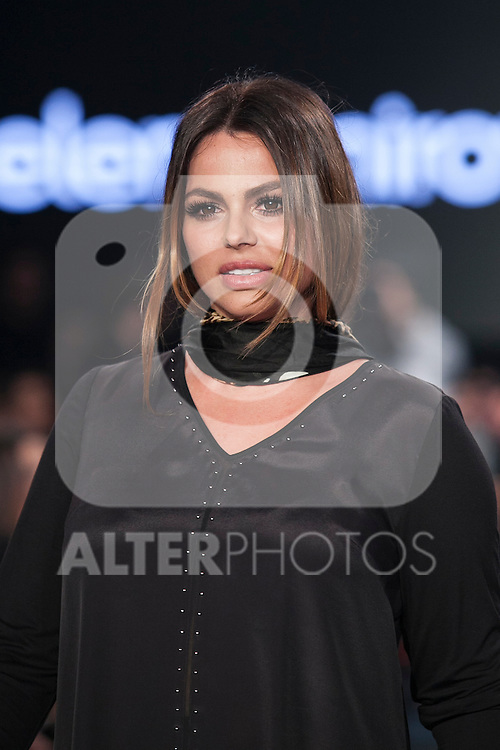 Spanish actress and model Marisa Jara presents Elena Miro new collection during Madrid Fashion Show MFS in Madrid, Spain. February 10, 2016. (ALTERPHOTOS/Victor Blanco)