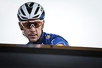 Philippe GILBERT (BEL/Deceuninck-Quick Step) pre race<br /> <br /> 117th Paris-Roubaix (1.UWT)<br /> 1 Day Race: Compiègne-Roubaix (257km)<br /> <br /> ©kramon