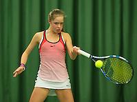 Rotterdam, The Netherlands, March 11, 2016,  TV Victoria, , NOJK 12/16 years, Margriet Timmermans<br /> Photo: Tennisimages/Henk Koster