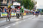 Sprint for second place, Michael VINGERLING (NED), Team3M, Jos VAN EMDEN (NED), Belking Pro Cycling, Arnhem Veenendaal Classic , UCI 1.1, Veenendaal, The Netherlands, 22 August 2014, Photo by Thomas van Bracht / Peloton Photos