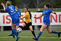 Michaela Robertson of Capital during the Handa Women's Premiership - Capital Football v Southern United at Petone Memorial Park, Wellington on Saturday 7 November 2020.<br /> Copyright photo: Masanori Udagawa /  www.photosport.nz