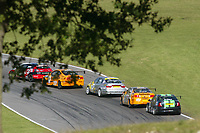 Round 10 of the 2005 British Touring Car Championship. Race action.