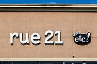 Rue 21 store exterior.
