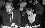 PATRIZIA REGGIANI GUCCI CON UGO TOGNAZZI - <br /> PREMIO THE BEST   NEW YORK 1982
