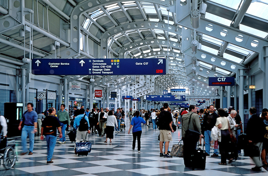 O'Hare airport, Chicago Illinois