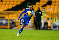 7th February 2021; Molineux Stadium, Wolverhampton, West Midlands, England; English Premier League Football, Wolverhampton Wanderers versus Leicester City; Youri Tielemans of Leicester City shoots over the cross bar
