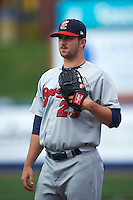 Brevard County Manatees pitcher Tyler Spurlin (23) during a game against the St. Lucie Mets on April 17, 2016 at Tradition Field in Port St. Lucie, Florida.  Brevard County defeated St. Lucie 13-0.  (Mike Janes/Four Seam Images)