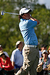 PALM BEACH GARDENS, FL. - Rory McIlroy watches his tee shot from hole 17 during Round Three play at the 2009 Honda Classic - PGA National Resort and Spa in Palm Beach Gardens, FL. on March 7, 2009.
