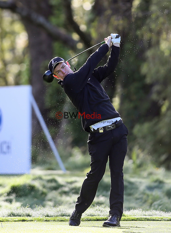 Kerry Mountcastle of New Zealand during the Asia Pacific Amateur Golf Championship Round Two, Royal Wellington Golf Course, Wellington, New Zealand, 27 October2017.  Photo: Simon Watts/www.bwmedia.co.nz