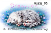 Kayomi, CUTE ANIMALS, paintings, USKH53,#AC# illustrations, pinturas ,everyday