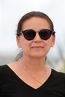 """CANNES, FRANCE - JULY 15: Hungarian director Ildiko Enyedi at the """"A Felesegem Tortenete/The Story Of My Wife"""" photocall during the 74th annual Cannes Film Festival on July 15, 2021 in Cannes, France. <br /> CAP/GOL<br /> ©GOL/Capital Pictures"""