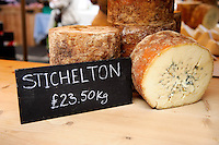 Borough Market, cheese for sale