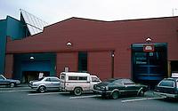 Vancouver: Granville Island--corrugated iron.  Photo '86.