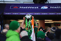 Ireland win the Triple Crown and Grand Slam on St Patrick's Day after the NatWest 6 Nations match between England and Ireland at Twickenham Stadium on Saturday 17th March 2018 (Photo by Rob Munro/Stewart Communications)