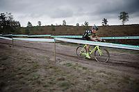 Sven Nys (BEL/Crelan-AAdrinks)<br /> <br /> Men Elite Race<br /> Superprestige Zonhoven 2015