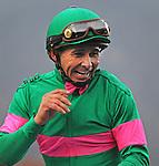January 9, 2010.J.S. Moss, owner of Niko Bay, smiles after his horse wins the San Pasqual Handicap, at Santa Anita Park, Arcadia, CA