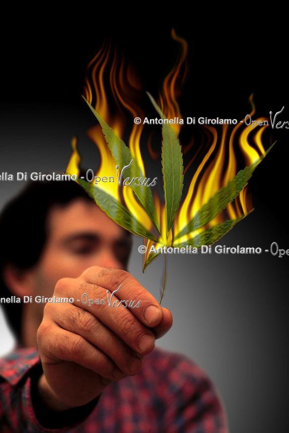 Disagio sociale.Social disease.Uso di Marijuana. Use of Marijuana......