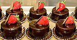 Created by Pastry Chef Biago Settepani for his Pasticceria Bruno stores in New York, these small mousse cakes are popular for dessert especially with coffee.