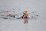 Gillian Kiernan at the Green Buoy 1KM Swim in Clogherhead....(Photo credit should read Jenny Matthews/NEWSFILE)...