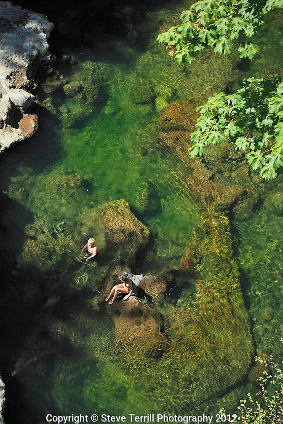 Swimming in Bull Run River
