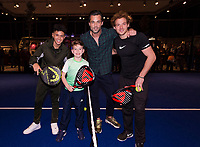 Rotterdam, The Netherlands, 14 Februari 2019, ABNAMRO World Tennis Tournament, Ahoy, Vincenzo, Jan Kooiman, Jamie Trenite,<br /> Photo: www.tennisimages.com/Henk Koster