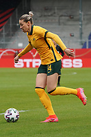 Alanna Kennedy (Australien, Australia) - 10.04.2021 Wiesbaden: Deutschland vs. Australien, BRITA Arena, Frauen, Freundschaftsspiel