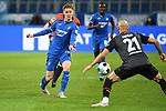 21.02.2021, xmeix, 1.Fussball Bundesliga,      TSG 1899 Hoffenheim - SV Werder Bremen, emspor. v.l.n.r, <br /> Marco John (TSG 1899 Hoffenheim), Oemer Toprak (SV Werder Bremen)<br /> <br /> (DFL/DFB REGULATIONS PROHIBIT ANY USE OF PHOTOGRAPHS as IMAGE SEQUENCES and/or QUASI-VIDEO)<br /> <br /> Foto © PIX-Sportfotos *** Foto ist honorarpflichtig! *** Auf Anfrage in hoeherer Qualitaet/Aufloesung. Belegexemplar erbeten. Veroeffentlichung ausschliesslich fuer journalistisch-publizistische Zwecke. For editorial use only. DFL regulations prohibit any use of photographs as image sequences and/or quasi-video.