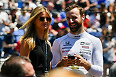 Verizon IndyCar Series<br /> Indianapolis 500 Carb Day<br /> Indianapolis Motor Speedway, Indianapolis, IN USA<br /> Friday 26 May 2017<br /> James Hinchcliffe, Schmidt Peterson Motorsports Honda <br /> World Copyright: Scott R LePage<br /> LAT Images<br /> ref: Digital Image lepage-170526-indy-9377