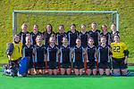Hawkes Bay team photo. 2021 National Women's Under-18 Hockey Tournament at National Hockey Stadium in Wellington, New Zealand on Sunday, 11 July 2021. Photo: Dave Lintott / lintottphoto.co.nz https://bwmedia.photoshelter.com/gallery-collection/Under-18-Hockey-Nationals-2021/C0000T49v1kln8qk