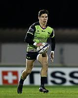 20th December 2020; The Sportsground, Galway, Connacht, Ireland; European Champions Cup Rugby, Connacht versus Bristol Bears; Alex Wootton with the ball for Connacht