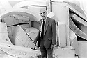 Anthony Caro CBE, English Abstract Sculptor, whose work is charactised by assemblages of metal industrial objects 10/9/89. CREDIT Geraint Lewis