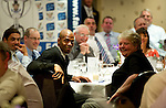 St Johnstone FC Players Awards Night...01.05.11  Lovatt Hotel Perth..Michael Duberry.Picture by Graeme Hart..Copyright Perthshire Picture Agency.Tel: 01738 623350  Mobile: 07990 594431