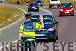 Garda roadblock in Leith Tralee during Covid-19 restrictions.
