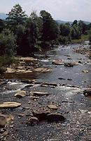 Bulgarien, Vidima-Fluss im Balkan
