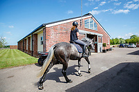 210605-Caroline Powell at home. Newmarket. South Sussex. Great Britain. Copyright Photo: Libby Law Photography