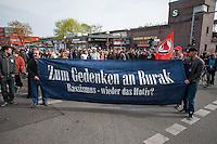 Gedenken an Burak Bektas.<br />Am zweiten Jahrestag der Ermordung von Burak Bektas demonstrierten ca. 300 Menschen in Berlin Neukoelln. Ein bislang unbekannter Taeter feuerte in Berlin-Neukoelln in den Abendstunden des 5. April 2012 fuenfmal wortlos in eine Gruppe Jugendlicher, Burak Bektas starb noch am Tatort, zwei Freunde von Burak wurden lebensgefaehrlich verletzt. Die Familie von Burak Bektas und die Demonstraten forderten nach zwei Jahren angeblich erfolgloser Ermittlungen der Berliner Polizei Aufklaerung ueber die Ermittlungsarbeit.<br />5.4.2014, Berlin<br />Copyright: Christian-Ditsch.de<br />[Inhaltsveraendernde Manipulation des Fotos nur nach ausdruecklicher Genehmigung des Fotografen. Vereinbarungen ueber Abtretung von Persoenlichkeitsrechten/Model Release der abgebildeten Person/Personen liegen nicht vor. NO MODEL RELEASE! Don't publish without copyright Christian-Ditsch.de, Veroeffentlichung nur mit Fotografennennung, sowie gegen Honorar, MwSt. und Beleg. Konto: I N G - D i B a, IBAN DE58500105175400192269, BIC INGDDEFFXXX, Kontakt: post@christian-ditsch.de]