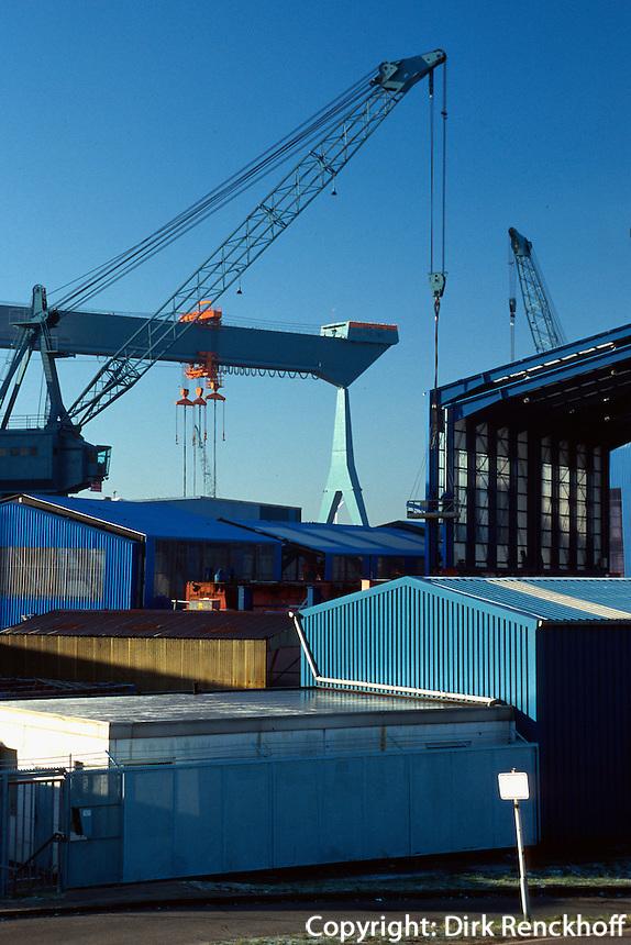 Deutschland, Sietas-Werft in Hamburg-Cranz