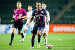 FC Kitchee Midfielder Fernando Augusto (c) in action during the AFC Champions League 2017 Preliminary Stage match between  Kitchee SC (HKG) vs Hanoi FC (VIE) at the Hong Kong Stadium on 25 January 2017 in Hong Kong, Hong Kong. Photo by Marcio Rodrigo Machado/Power Sport Images