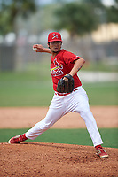 St. Louis Cardinals pitcher Harley Holt (3) during a Minor League Spring Training game against the New York Mets on March 31, 2016 at Roger Dean Sports Complex in Jupiter, Florida.  (Mike Janes/Four Seam Images)