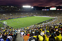 Action photo during the match Brazil vs Ecuador, Corresponding Group -B- America Cup Centenary 2016, at Rose Bowl Stadium<br /> <br /> Foto de accion durante el partido Brasil vs Ecuador, Correspondiante al Grupo -B-  de la Copa America Centenario USA 2016 en el Estadio Rose Bowl, en la foto:  Rose Bowl Stadium<br /> <br /> <br /> 04/06/2016/MEXSPORT/Victor Posadas.