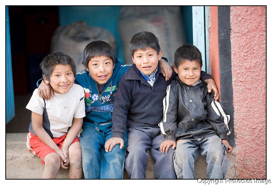 Pérou<br /> Sur la route de Cuzco.