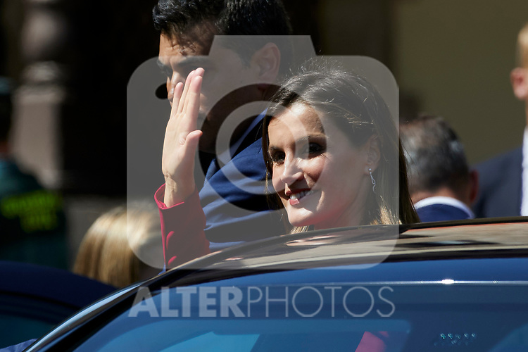 Queen Letizia of Spain visit Covadonga, Spain. September 08, 2018. (ALTERPHOTOS/A. Perez Meca)
