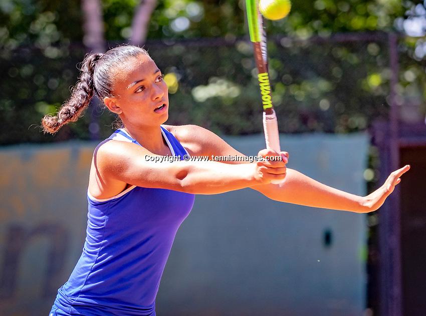 Hilversum, Netherlands, August 6, 2018, National Junior Championships, NJK, Warda Alt El Bachir (NED)<br /> Photo: Tennisimages/Henk Koster