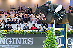 Emanuele Gaudiano of Italy riding Jamar d'Ysenbeeck Z competes in the Hong Kong Jockey Club Trophy during the Longines Masters of Hong Kong at the Asia World Expo on 09 February 2018, in Hong Kong, Hong Kong. Photo by Diego Gonzalez / Power Sport Images