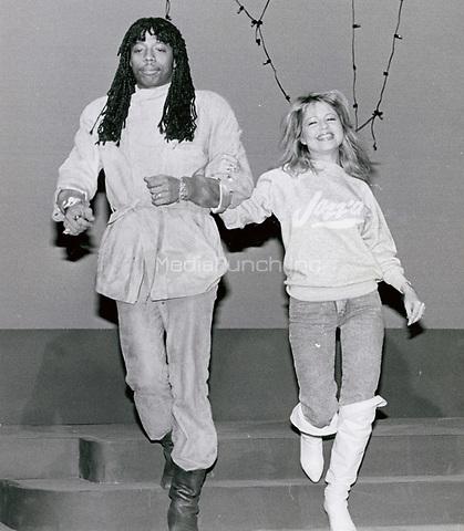 Rick James & Pia Zadora 1986<br /> Photo By John Barrett-PHOTOlink.net / MediaPunch