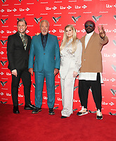 The Voice UK Series Press Launch at the Soho Hotel, London on December 16th 2019<br /> <br /> Photo by Keith Mayhew